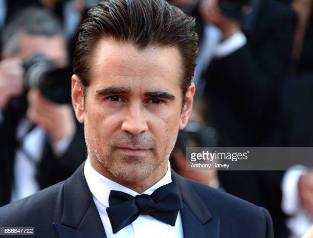 "Colin Farrell, attends the ""The Killing Of A Sacred Deer"" screening during the 70th annual Cannes Film Festival at Palais des Festivals on May 22,..."