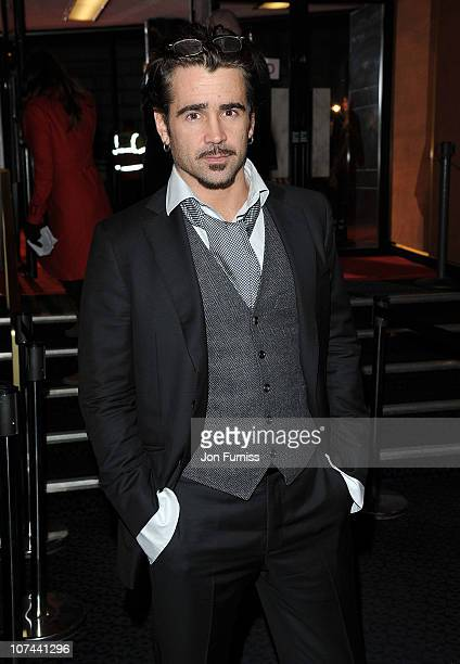 Colin Farrell attends the UK premiere of 'The Way Back' at The Curzon Mayfair on December 8 2010 in London England