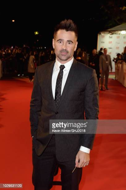 Colin Farrell attends the Widows premiere during 2018 Toronto International Film Festival at Roy Thomson Hall on September 8 2018 in Toronto Canada