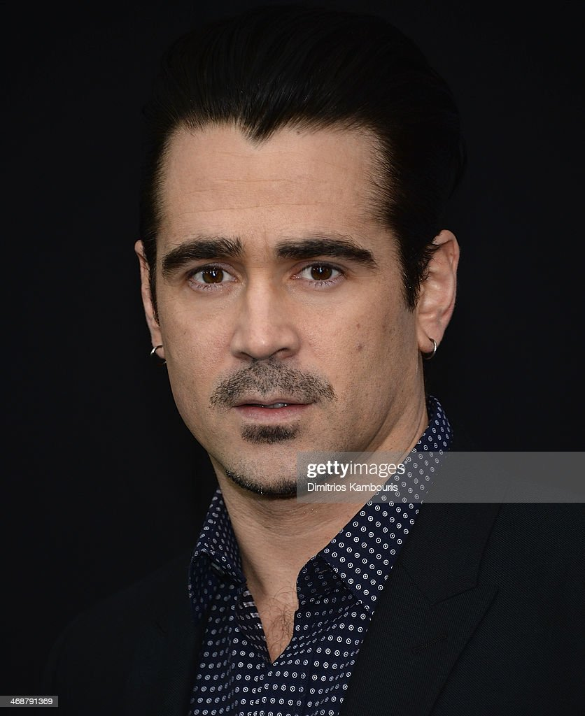 Colin Farrell attends the 'Winter's Tale' world premiere at Ziegfeld Theater on February 11, 2014 in New York City.