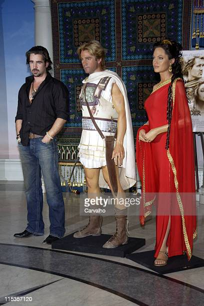 Colin Farrell during Colin Farrell Launches the Alexander Experience at Madame Tussauds New York at Madame Tussauds in New York City New York United...