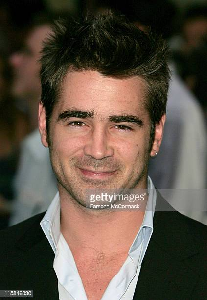 Colin Farrell during 'Miami Vice' London Premiere – Outside Arrivals at Odeon Leicester Square in London Great Britain