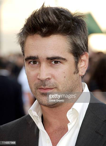 Colin Farrell during 'Miami Vice' Los Angeles Premiere Arrivals at Mann Village in Westwood California United States