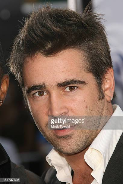 Colin Farrell during 'Miami Vice' Los Angeles World Premiere at Mann Village Theatre in Westwood California United States