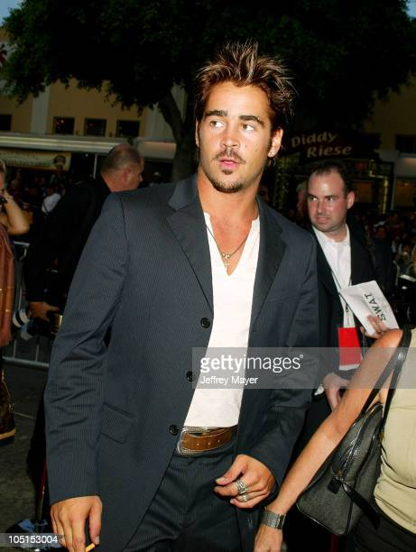 Colin Farrell during SWAT Premiere at Mann Village Theatre in Westwood California United States
