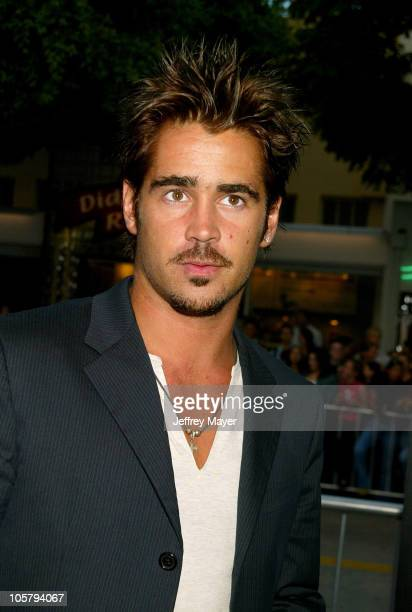 Colin Farrell during 'SWAT' Premiere at Mann Village Theatre in Westwood California United States