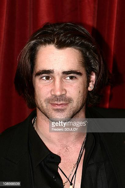 Colin Farrell in Paris France on December 16th 2004