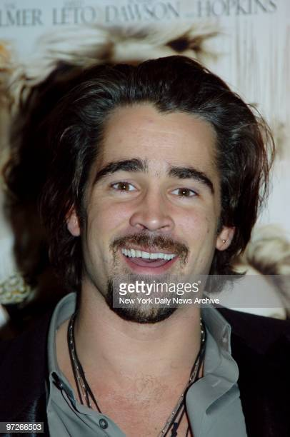 """Colin Farrell is on hand for a Film Society of Lincoln Center salute to director Oliver Stone that included a screening of """"Alexander."""" He plays..."""