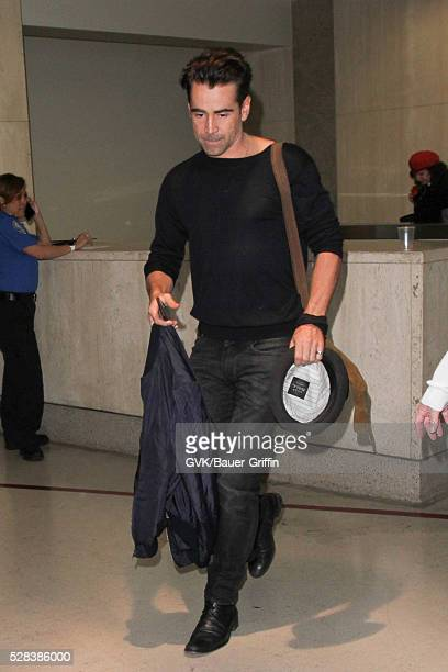 Colin Farrell is seen at LAX on May 04 2016 in Los Angeles California