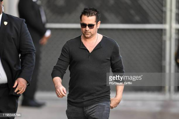 Colin Farrell is seen on January 22, 2020 in Los Angeles, California.