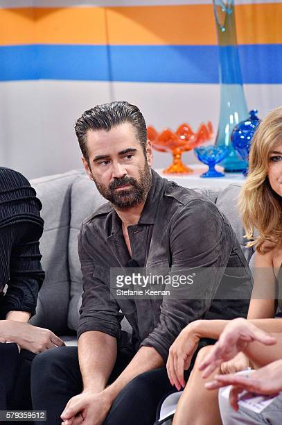 Colin Farrell of 'Fantastic Beasts and Where to Find Them' visits the Fandango Studio San Diego ComicCon International 2016 on July 23 2016 in San...
