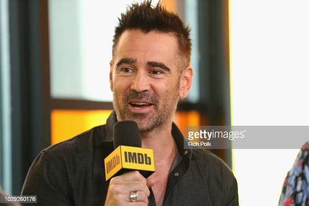 """Colin Farrell of 'Widows"""" attends The IMDb Studio presented By Land Rover At The 2018 Toronto International Film Festival at Bisha Hotel & Residences..."""