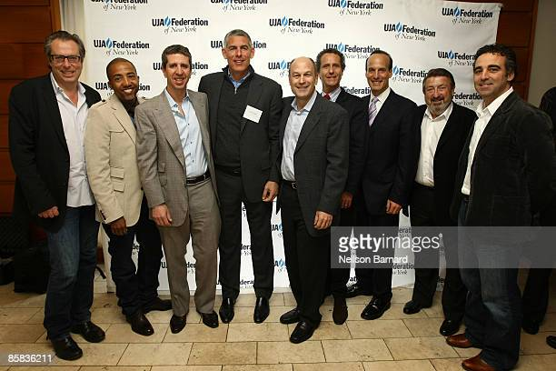 Colin Finklestein Chairman of EMI Music Kevin Liles Jason Flom Lyor Cohen CEO of Warner Music Group Barry Weiss Chairman and CEO for RCA/Jive Label...