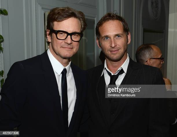 Colin Firth and Josh Lucas attends 'Magic In The Moonlight' premiere after party at Harlow on July 17 2014 in New York City