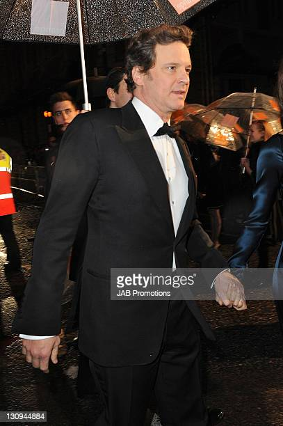 Colin Firth arrives at The 2011 Orange British Academy Film Awards at The Royal Opera House on February 13 2011 in London England