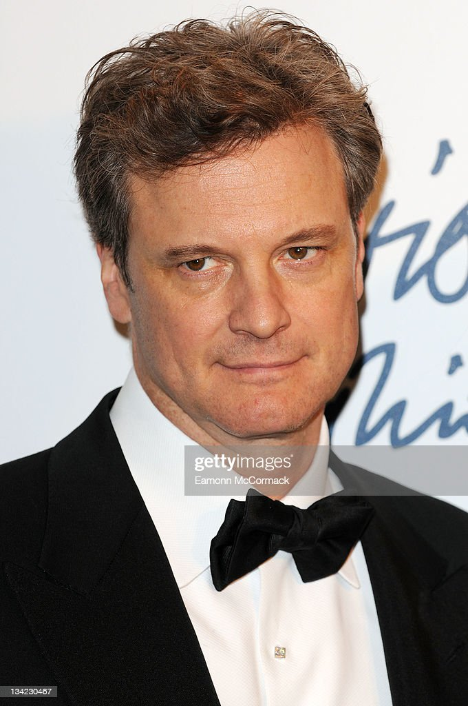 Colin Firth arrives at the British Fashion Awards at The Savoy Hotel on November 28, 2011 in London, England.