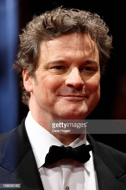 Colin Firth arrives at the Orange British Academy Film Awards 2011 held at The Royal Opera House on February 13 2011 in London England
