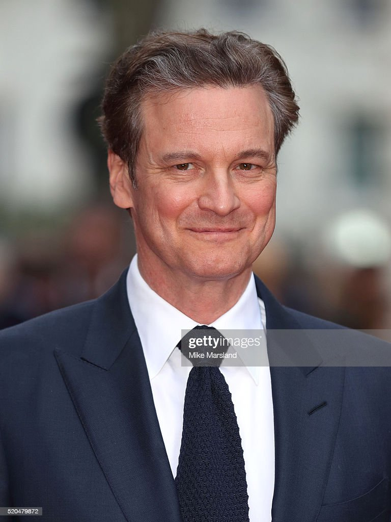 Colin Firth arrives for the UK premiere of 'Eye In The Sky' on April 11, 2016 in London, United Kingdom.