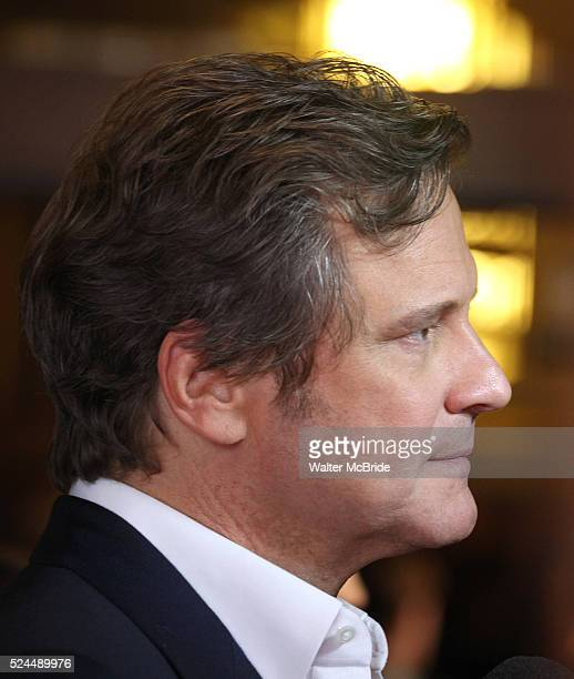 Colin Firth attending the The 2012 Toronto International Film FestivalRed Carpet Arrivals for 'To The Wonder' at the Princess of Wales Theatre in...