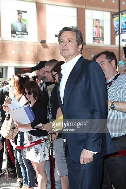Colin Firth attending the The 2012 Toronto International Film Festival Red Carpet Arrivals for 'Arthur Newman' at the Elgin Theatre in Toronto on...
