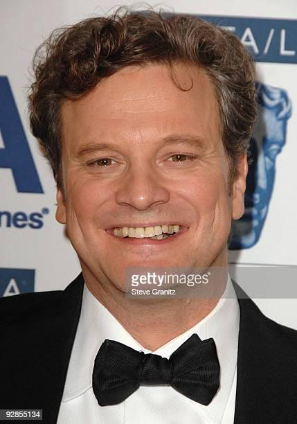 Colin Firth attends 18th Annual BAFTA/LA Britannia Awards on November 5, 2009 in Century City, California.