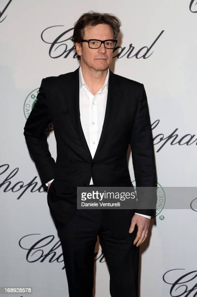 Colin Firth attends a lunch hosted by Chopard during The 66th Annual Cannes Film Festival at Hotel Martinez on May 17 2013 in Cannes France