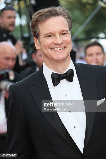 Colin Firth attends a screening of 'Loving' at the annual 69th Cannes Film Festival at Palais des Festivals on May 16 2016 in Cannes France