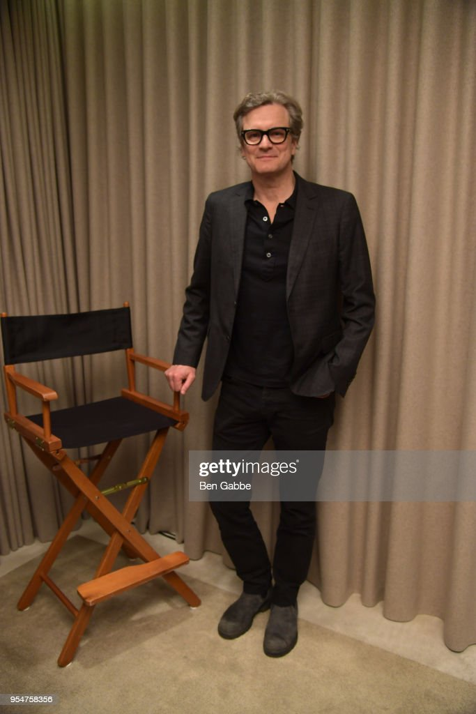 Colin Firth attends a screening of the 'Forever Tasmania' documentary at The New York Edition on May 4, 2018 in New York City.