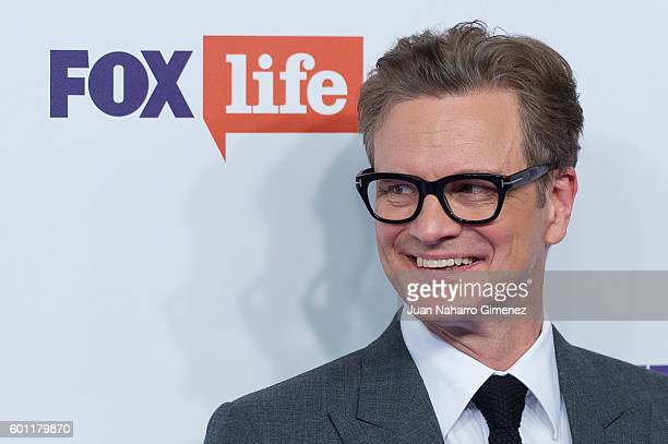 Colin Firth attends 'Bridget Jones Baby' premiere at Kinepolis Cinema on September 9 2016 in Madrid Spain