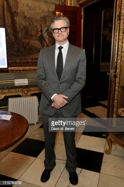 Colin Firth attends the Commonwealth International Women's Day event at Marlborough House on March 06, 2020 in London, England.