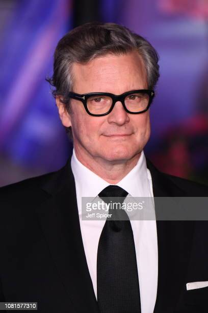Colin Firth attends the European Premiere of Mary Poppins Returns at Royal Albert Hall on December 12 2018 in London England