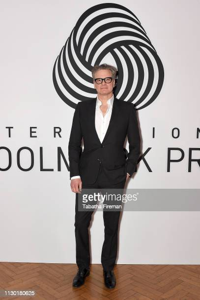 Colin Firth attends the International Woolmark Prize 2019 Global Final at Lindley Hall on February 16, 2019 in London, England.