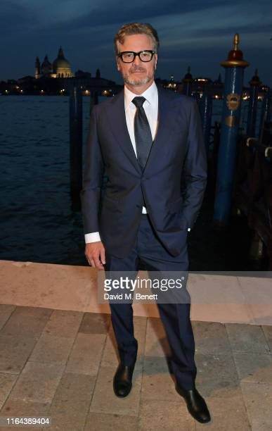 Colin Firth attends the third Franca Sozzani Award 2019 at the Belmond Cipriani Hotel on August 27 2019 in Venice Italy