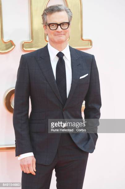 Colin Firth attends the UK premiere of 'Kingsman The Golden Circle' at Odeon Leicester Square on September 18 2017 in London England