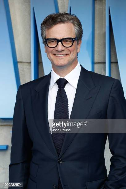 Colin Firth attends the UK Premiere of Mamma Mia Here We Go Again at Eventim Apollo on July 16 2018 in London England