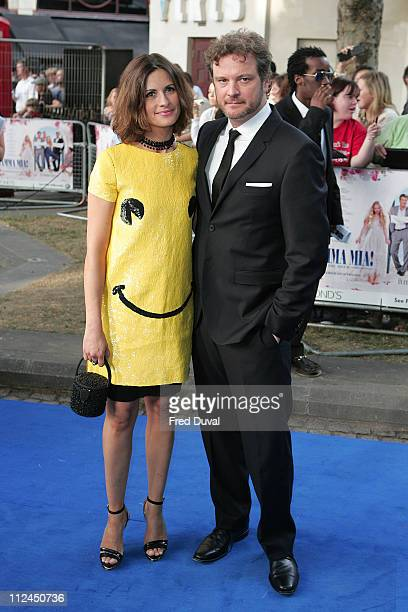 Colin Firth attends the World Premiere of Mamma Mia at The Odeon Leicester Square on June 30 2008 in London England