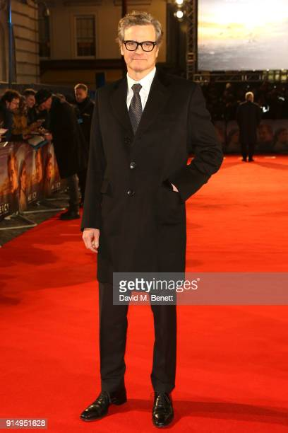Colin Firth attends the World Premiere of 'The Mercy' at The Curzon Mayfair on February 6 2018 in London England
