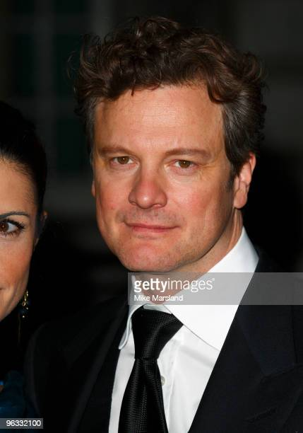 Colin Firth attends UK Film Premiere of 'A Single Man' at The Curzon Mayfair on February 1, 2010 in London, England.