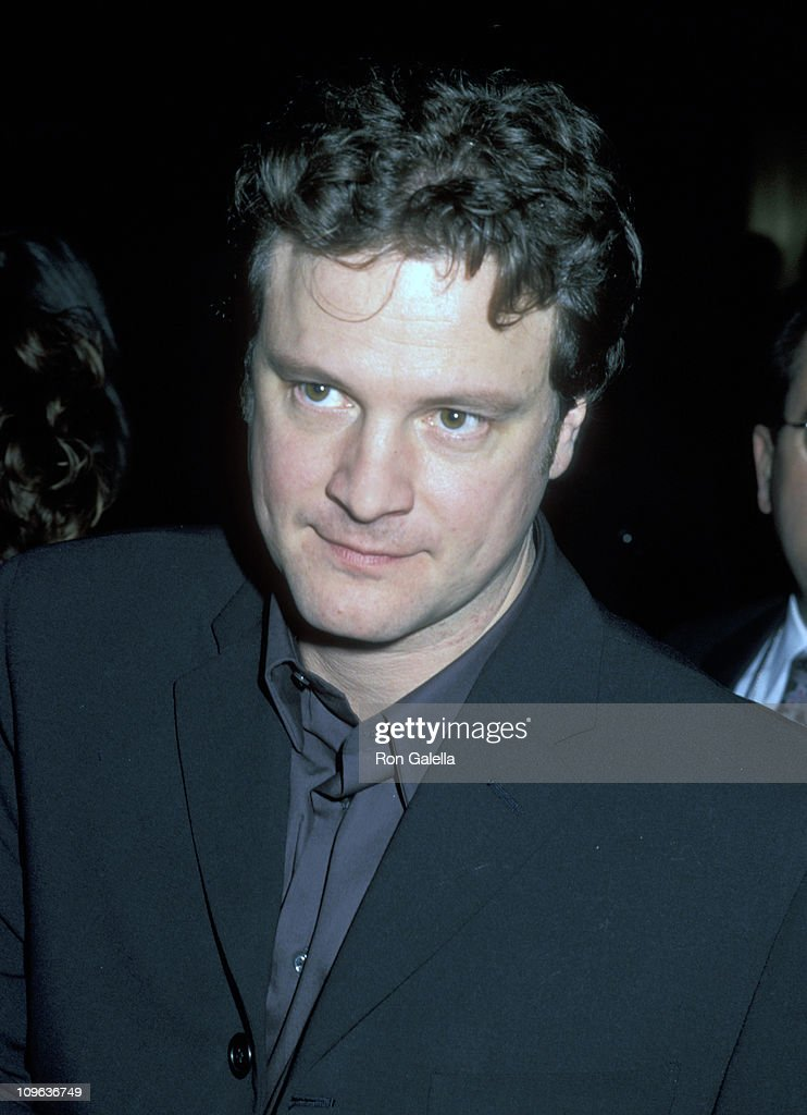 Colin Firth during 'Shakespeare in Love' Premiere Party - December 3, 1998 at St. Regis Hotel in New York City, New York, United States.