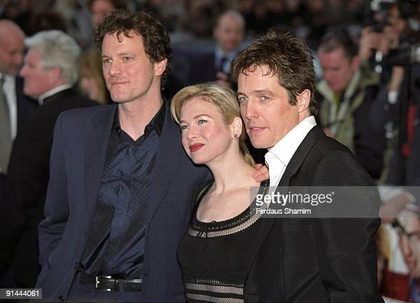 Colin Firth Rene Zellweger and Hugh Grant