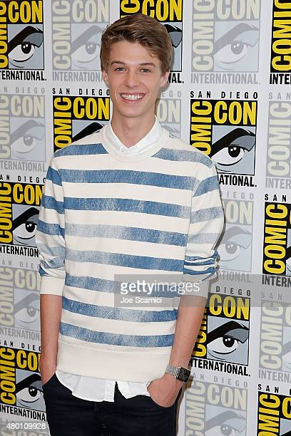 Colin Ford attends the CBS press line at ComicCon International Day 1 on July 9 2015 in San Diego California