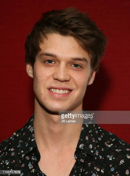Colin Ford attends the LA Premiere of Extracurricular Activities at the Laemmle's Monica Film Center on May 16 2019 in Santa Monica California
