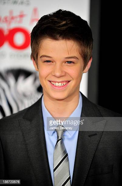 Colin Ford attends the We Bought a Zoo premiere at Ziegfeld Theater on December 12 2011 in New York City