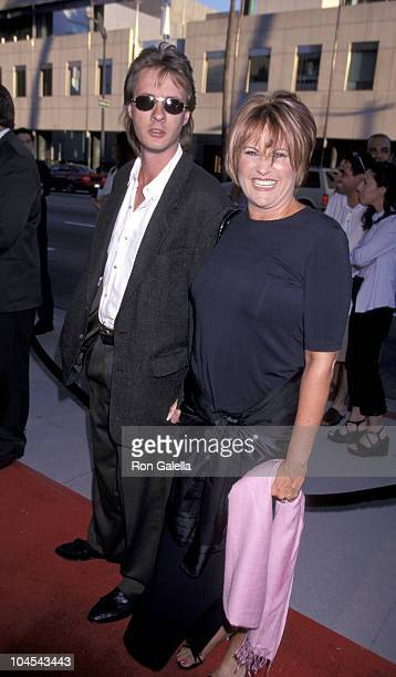 Colin Freeman and Lorna Luft during Beverly Hills Premiere of Introducing Dorothy Dandridge at The Academy in Beverly Hills California United States