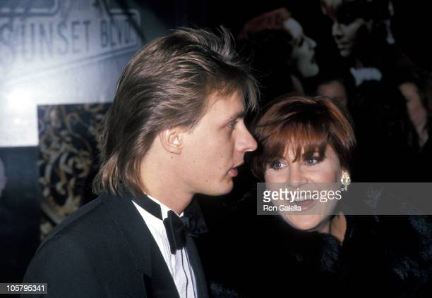 Colin Freeman and Lorna Luft during Sunset Boulevard New York Premiere November 17 1994 at Minskoff Theater in New York City New York United States