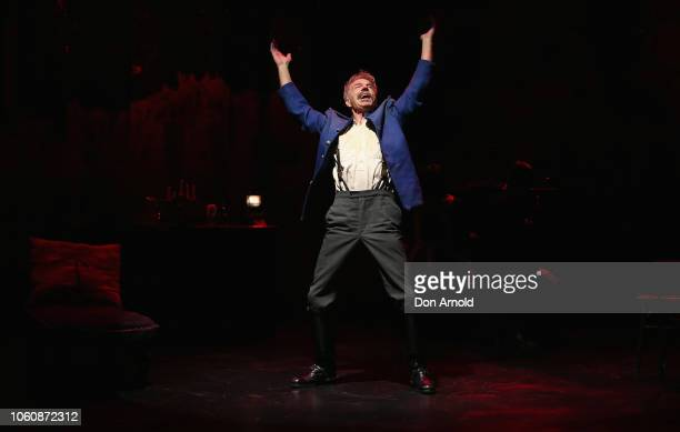 Colin Friels plays the role of Edgar during a media call for The Dance Of Death at Belvoir Street Theatre on November 13 2018 in Sydney Australia