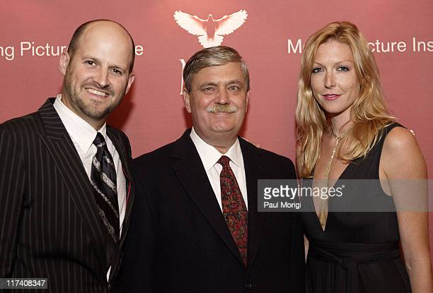 """Colin Gray, Paul Maleter and Megan Raney Aarons during Screening of """"Freedom's Fury"""" in Washington, D.C. - November 17, 2006 at The Uptown Theater in..."""