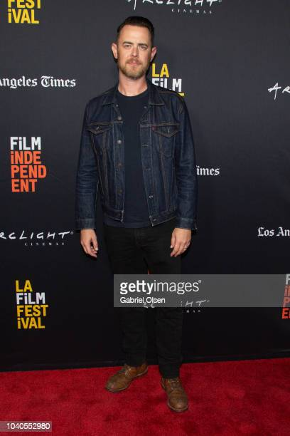 Colin Hanks arrives at the 2018 LA Film Festival Gala Screening of 'The Oath' at ArcLight Hollywood on September 25 2018 in Hollywood California
