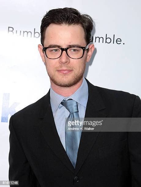 Colin Hanks attends the 2008 Public Theater Gala & the opening night of Shakespeare In The Park on June 17, 2008 at Delacorte Theater in New York.