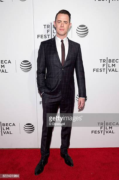 Colin Hanks attends the 'Elvis Nixon' premiere during the 2016 Tribeca Film Festival at John Zuccotti Theater at BMCC Tribeca Performing Arts Center...
